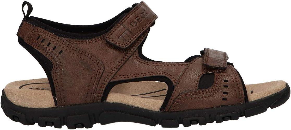 Sandalias con Punta Abierta para Hombre Geox Uomo Sandal Strada A