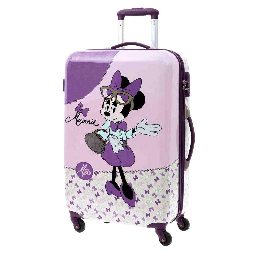 Disney Koffer Minnie Kindergepäck, 64 Liter, Rosa