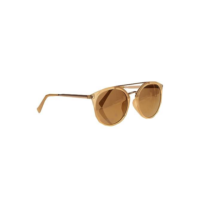 VENCA Gafas de sol montura de pasta combinada con metal ...