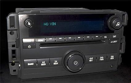 Amazon com: Chevy Impala Monte Carlo 2006 AM FM mp3 CD Aux In Radio