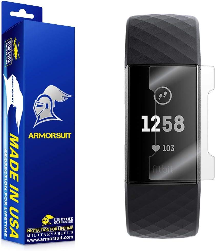 Protector de pantalla ArmorSuit Fitbit Charge 3 (4un.)