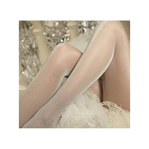 db07be016 Image Unavailable. Image not available for. Color  Glitter Shimmer Tights  Fashion Sheer Sparkling Shiny Pantyhose Sparkle Socks