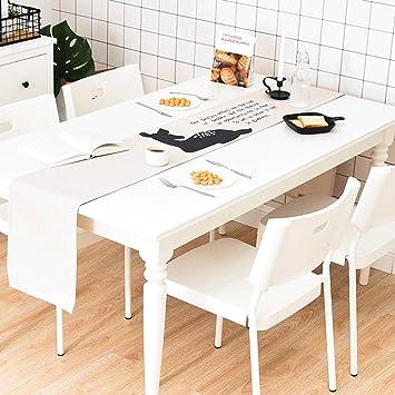 Ns Coton Lin Chemin De Table Durable Moderne Simple Dessin Anime