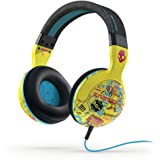 Skullcandy Hesh 2.0 Headphones with Mic Toxic Tune/ Black/Magenta, One Size