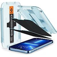 Spigen Protetor de tela de vidro temperado [Glas.tR EZ Fit - Privacidade] projetado para iPhone 13 Pro Max - pacote com…