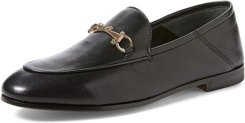 FOWT Women Round Toe Loafer Low Heels