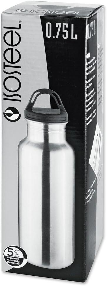 Botella Termo de Acampada y Ciclismo Isosteel VA 9716