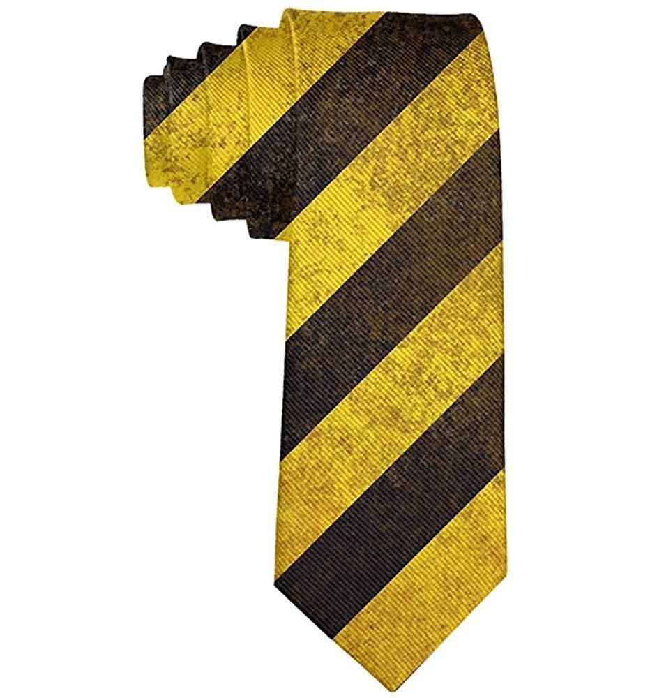 Corbatas divertidas Corbatas amarillas negras de la raya Corbatas ...