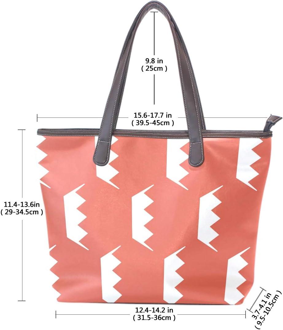 Bahrain Flag Womens Fashion Large Tote Ladies Handbag Shoulder Bag