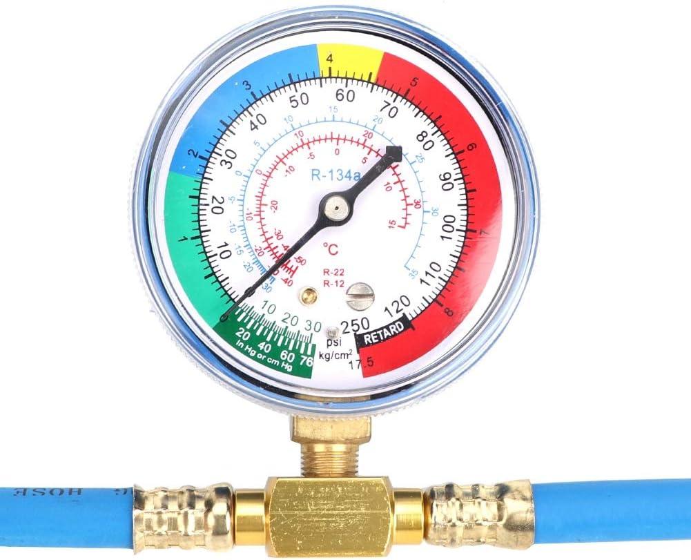 Recharge Measuring Hose Can Tap Gauge Refrigerant Charging Pipe Qii lu R134A Refrigerant Gauge Hose