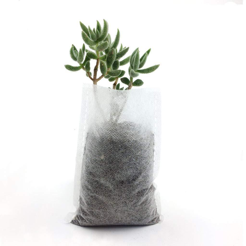 JDgoods 600pcs Nursery Pots Seed-Raising Bags Non-Woven Fabrics Garden Supply