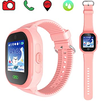 Dxrise Waterproof Smart Watch for Kids Games GPS Tracker ...