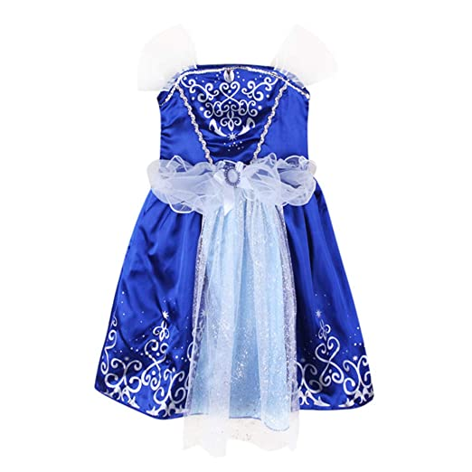 ec2322c9f7f0 Amazon.com  for 3-8 T Baby Girls  Dress Patchwork Bling Floral Party ...