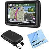 "Garmin dezl 570LMT 5"" Truck GPS Navigation Lifetime Map/Traffic Updates Case Bundle"
