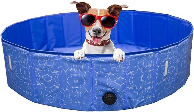 PETGARD - Piscina para Perros con Cubierta para bañera, bañera y Piscina: Amazon.es: Productos para mascotas