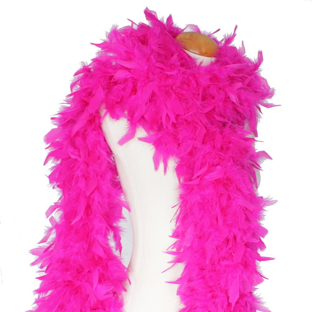 Feather Boa Deluxe High Quality 80 Grams Burlesque Hen Night Party Fancy Dress