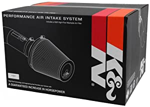 K&N Performance Cold Air Intake Kit 57-2583 with Lifetime Filter for 2011-2014 Ford F150 3.5L V6 Turbo Ecoboost