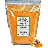 HQOExpress | Organic Turmeric Powder | 5 lb. Resealable Bag