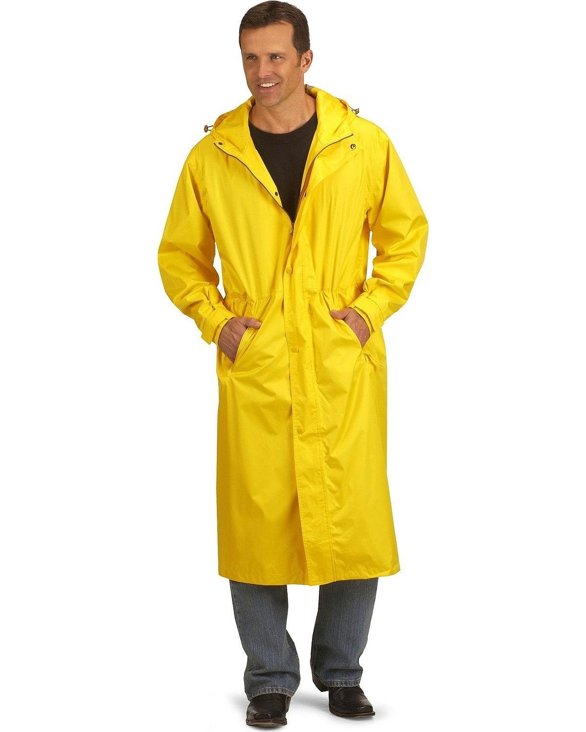 Outback Trading Co Men's pak-A-Roo Waterproof DusterImages 301/341 Sent 1/2/18 Gold XXX-Large