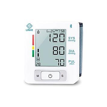 LifeVit BPM-150 - Tensiómetro de Muñeca Inteligente, Conexión ...