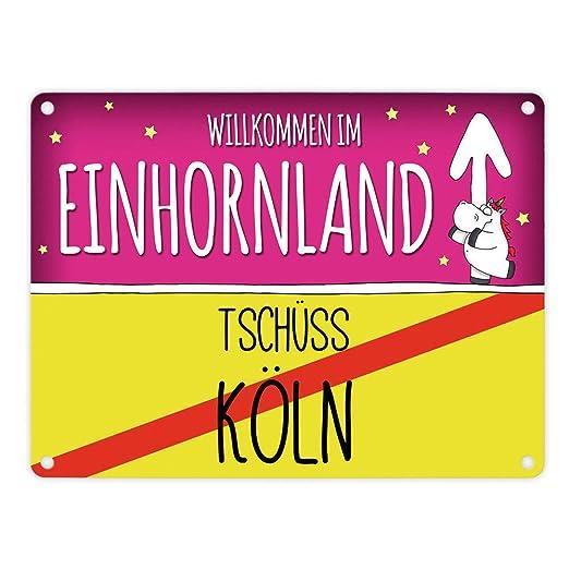 Bienvenida en el país de unicornio - tschüss Köln Unicornio ...