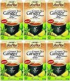 (6er BUNDLE)| Yogi Tea - Green Tea Ginger Lemon Tea -17bag