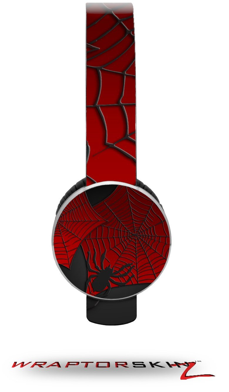 Spider Web Decal Style Skin (fits Sol Republic Tracks Headphones - HEADPHONES NOT INCLUDED)