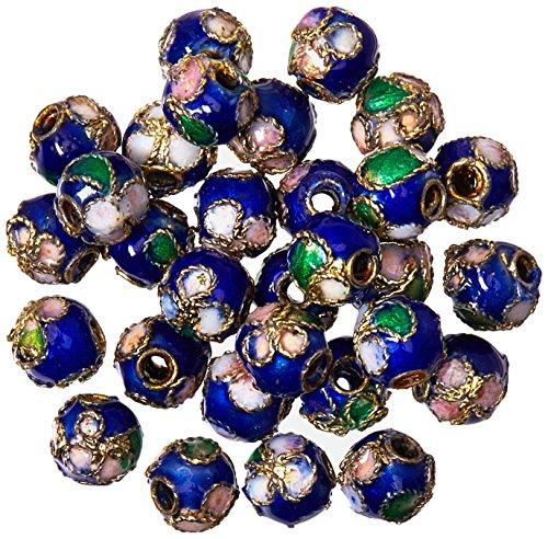 - Expo BD51832 Cloisonne Beads, 30-Pack