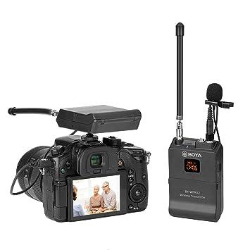 Kuaker Micrófono inalámbrico UHF, de Alta sensibilidad, con Nivel ...
