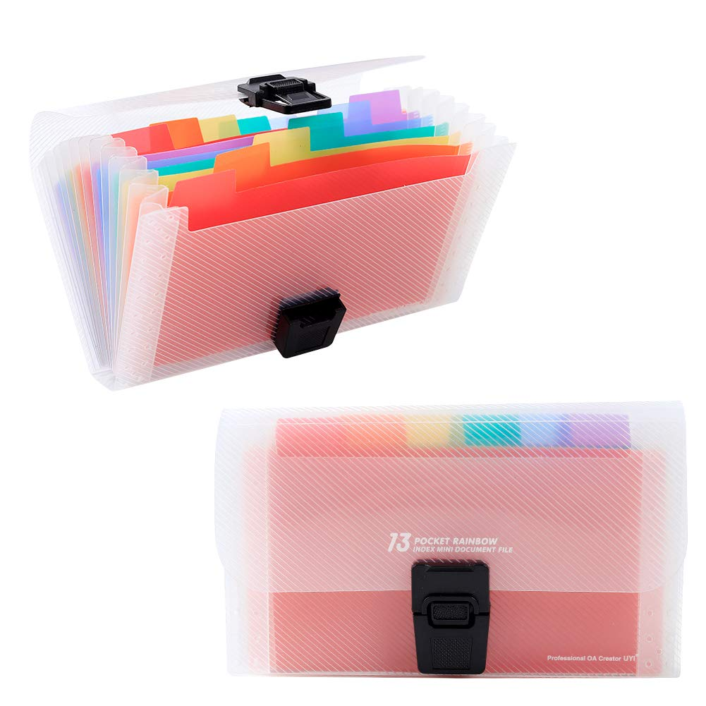 Cooloco Accordian File Manager Folders, A6 Letter