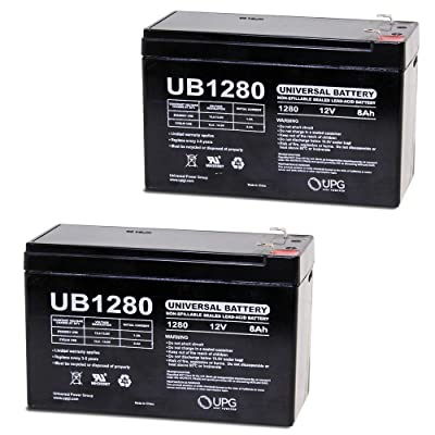 Universal Power Group 12V 8Ah Battery for Razor MX350 MX400 Electric Dirt Bike - 2 Pack : Sports & Outdoors