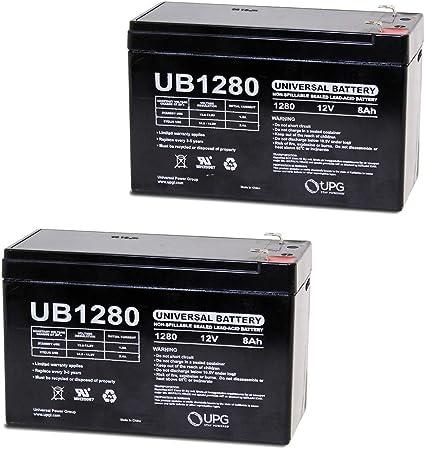 Amazon.com : Universal Power Group 12V 8Ah Razor Pocket Mod ...
