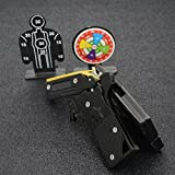 LIVIQILY Gift Box Packaging Rubber Band Gun RBG Portable Semi-Automatic Repeater Pistol Toy
