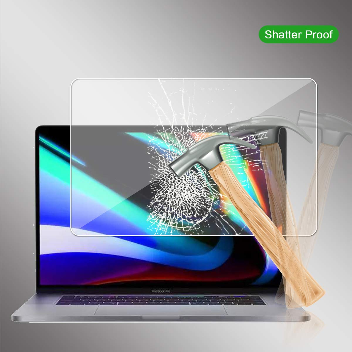 Ultra Slim Clear Tempered Glass Screen Protector Film Anti-Scratch Screen Cover 1 Pack Mihify Mart For MacBook Pro 16 Inch Screen Protector,