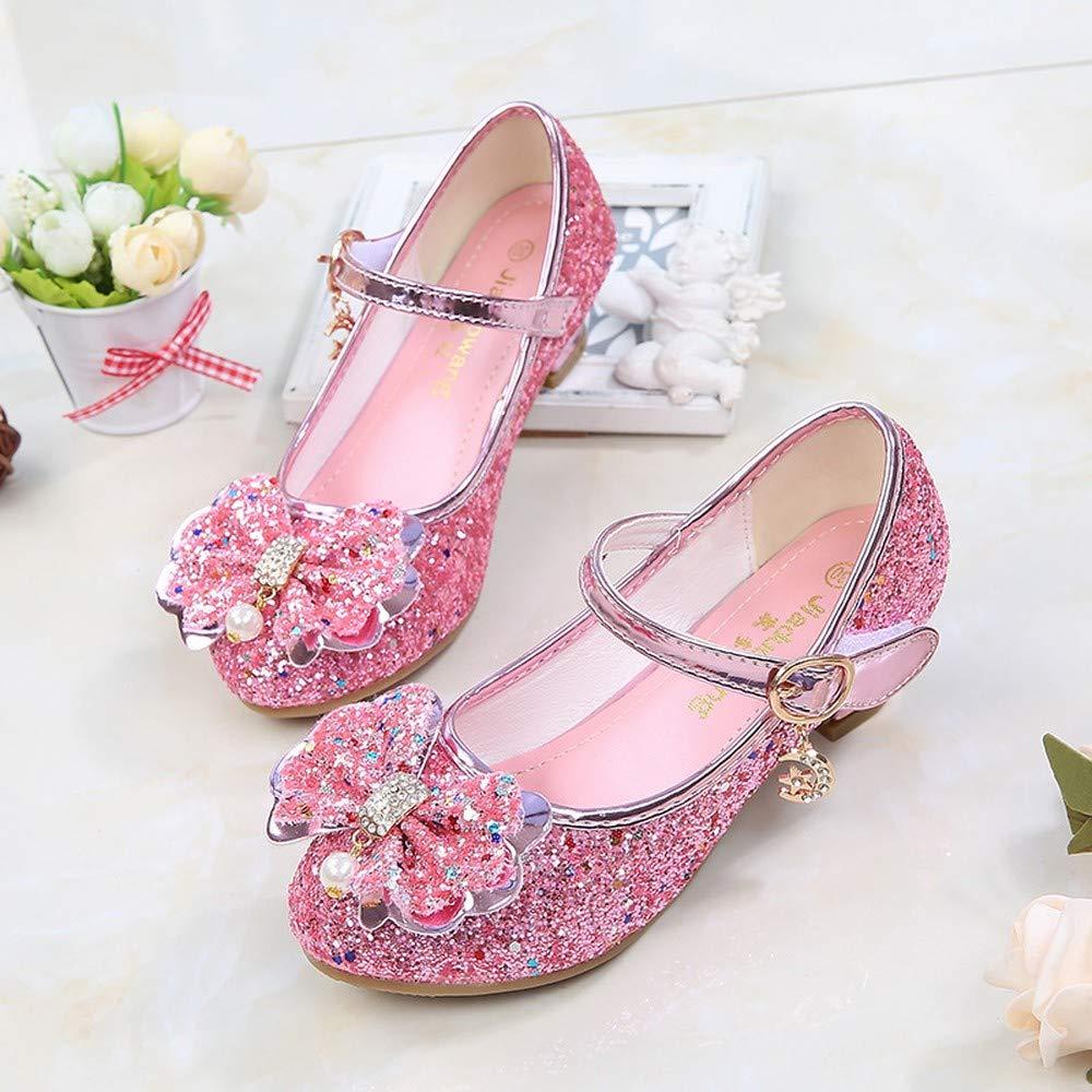Fashion Shoebox Little Girls Adorable Sparkle Mary Jane Princess Party Dress Shoes