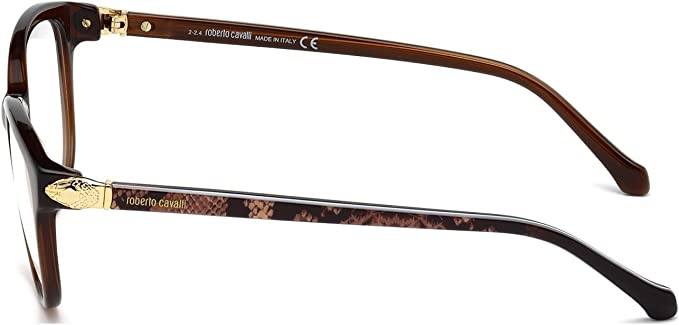 Roberto Cavalli RC0941-083 Eyeglass Frame Purple violet frame w// Clear Demo Lens 53mm