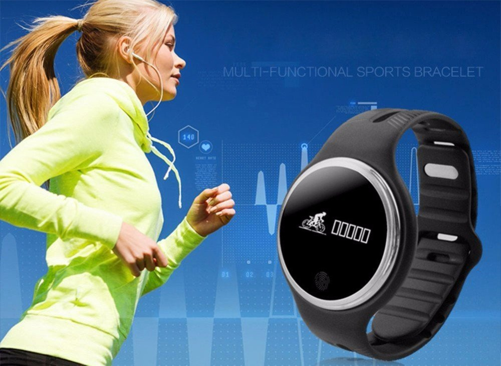 Amazon.com: BOND E07 Smart Wristband Heart Rate IP67 ...