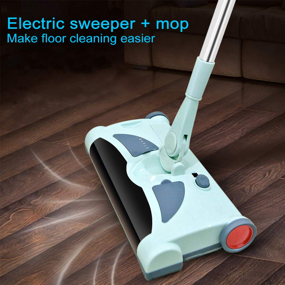 Electric Floor Cleaner Mop Cordless Stick Vacuum for Floor Cleaning Rechargeable Electric Sweeper Mop Combo Household Cleaning Supply for Indoor Any Surfaces by Woolala (Image #2)