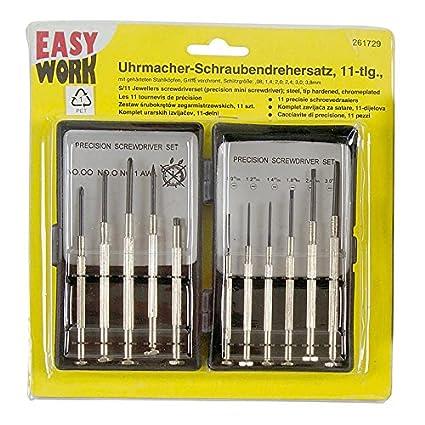 Easy Work Relojero de destornilladores (11 piezas, 261729