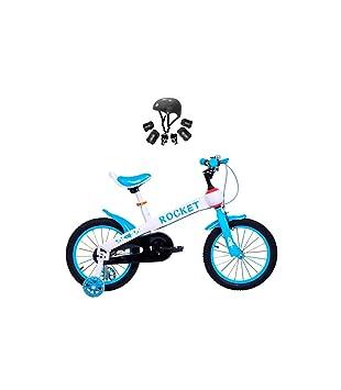 Bicicleta Infantil Modelo Rocket con Ruedas de 12 Color Azul