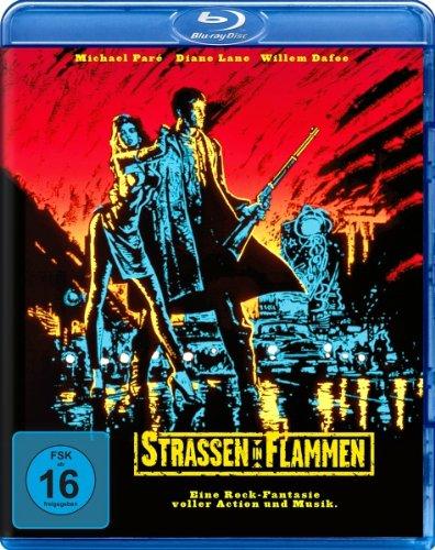 Streets of Fire [ Blu-Ray, Reg.A/B/C Import - Germany - Rock Warn Front