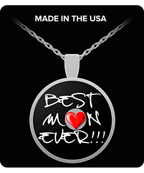 Amazoncom Qualitydesignus Mothers Day Necklace Best Mom Ever
