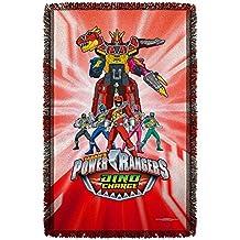 Power Rangers Throw Blanket
