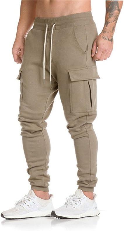 Men Trousers Harem Sweatpants Slacks Casual Jogger Sportw Pants