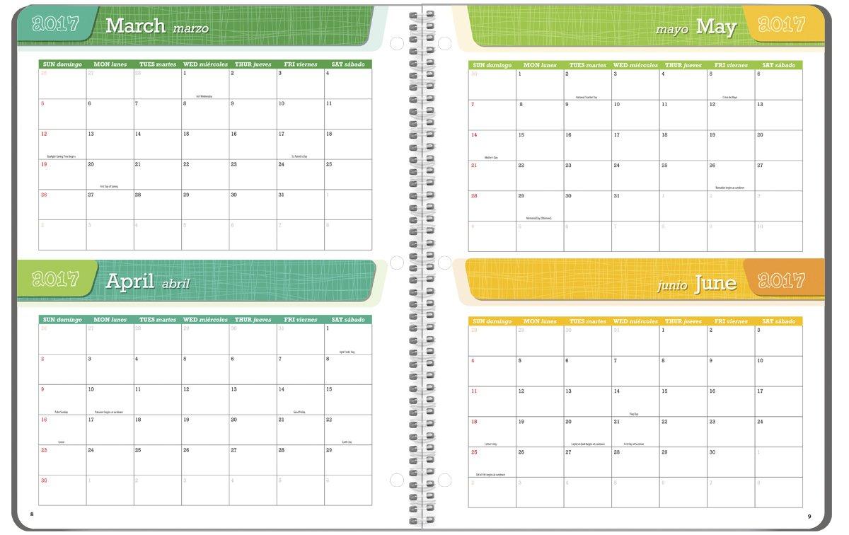 Student Planner 2016 - 2017 School Year Planner Elementary School Content 8.5'' x 11'' by School Datebooks (Image #4)
