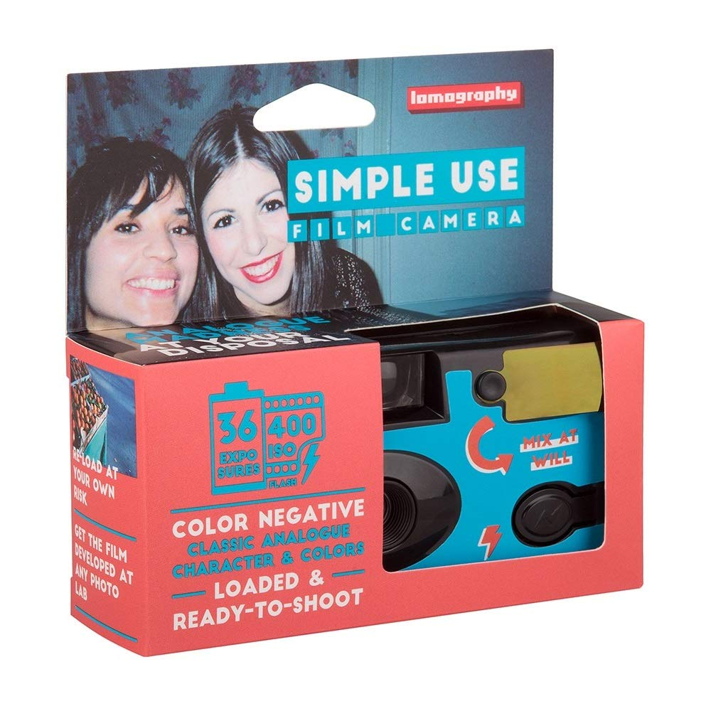 Lomography Simple Use Camera, Color Negative (SUC100CN) by Lomography