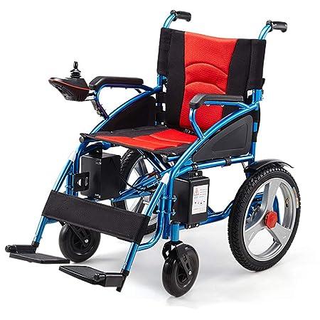 Wheel-hy Silla Plegable/Silla de Ruedas eléctrica, Conveniente para los discapacitados y los Ancianos: Amazon.es: Deportes y aire libre
