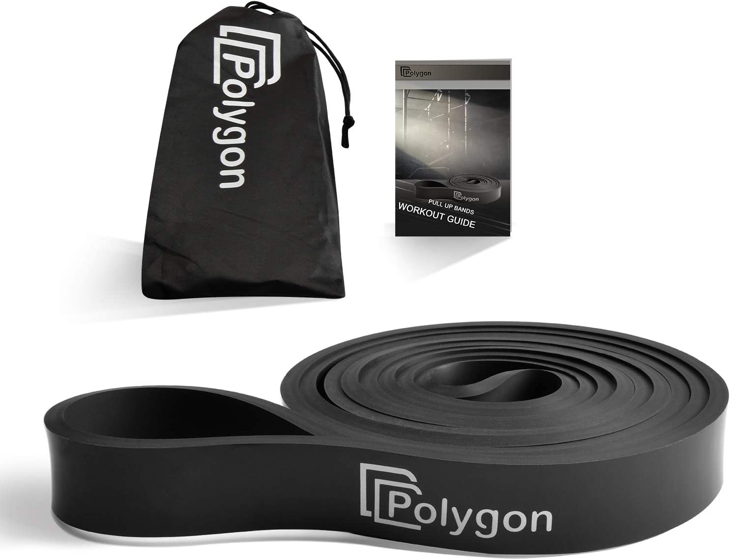 Muscle Toning Resistance Training Pull Up Assist Resistance Exercise Bands Powerlifting Home Workouts for Body Stretching Physical Therapy Polygon Heavy Duty Assistance Loop Mobility Band