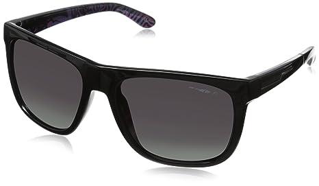Arnette 0AN4143 41/3R 58, Gafas de Sol Unisex-Adulto, Negro Brillante