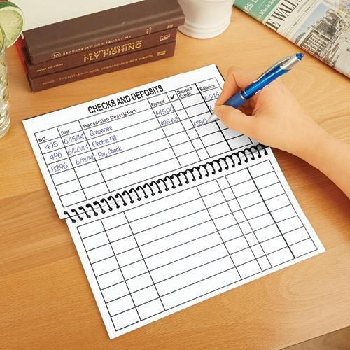 Amazon.Com : Jumbo Large Print Checkbook Register- Balancing